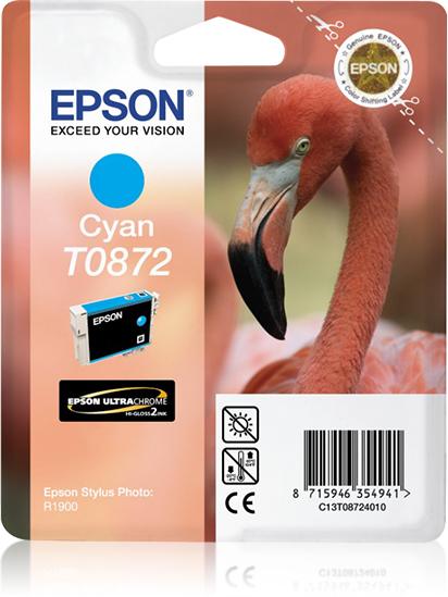Epson Flamingo Cartucho T0872 cian