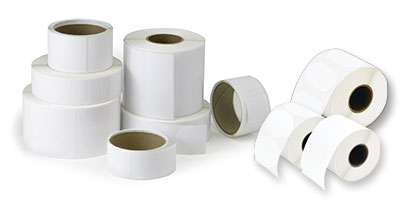 DTM Print 074806HIS self-adhesive label Permanent White 850 pc(s)