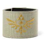 Nintendo Legend of Zelda Skyward Sword Royal Crest Canvas Wristband with Velcro Fastener, Military Green (WB0