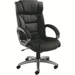 Arista FF VALENCIA ARISTA EXEC LEATHER CHR BLK