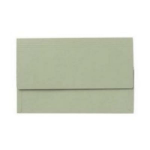 Exacompta Value Document Wallet Foolscap Green PK50