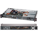 Supermicro CSE-505-203B server barebone Rack (1U)