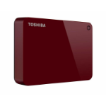 Toshiba Canvio Advance external hard drive 4000 GB Red