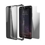 ZAGG InvisibleShield Glass+ Contour 360 Shell case Black, Transparent