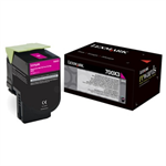 Lexmark 70C0X30 (700X3) Toner magenta, 4K pages