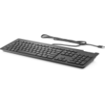 HP Business Slim Smartcard Tastatur USB Schwarz