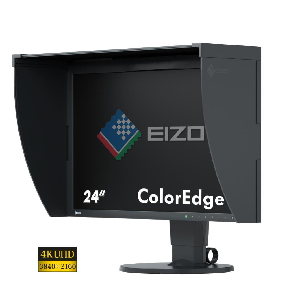 "EIZO ColorEdge CG248-4K LED display 60.5 cm (23.8"") 3840 x 2160 pixels 4K Ultra HD Flat Black"