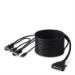 Linksys F1D9401-12 3.6m Black KVM cable