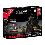 VisionTek 900232 Radeon HD3650 GDDR2 Video Card