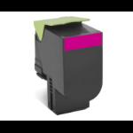 Lexmark 70C2HME (702HM) Toner magenta, 3K pages