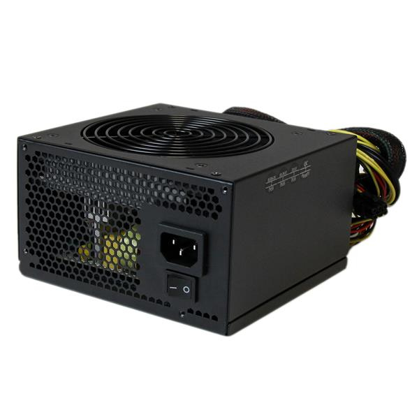 StarTech.com 530 Watt ATX12V 2.3 80 Plus Computer Power Supply w/ Active PFC