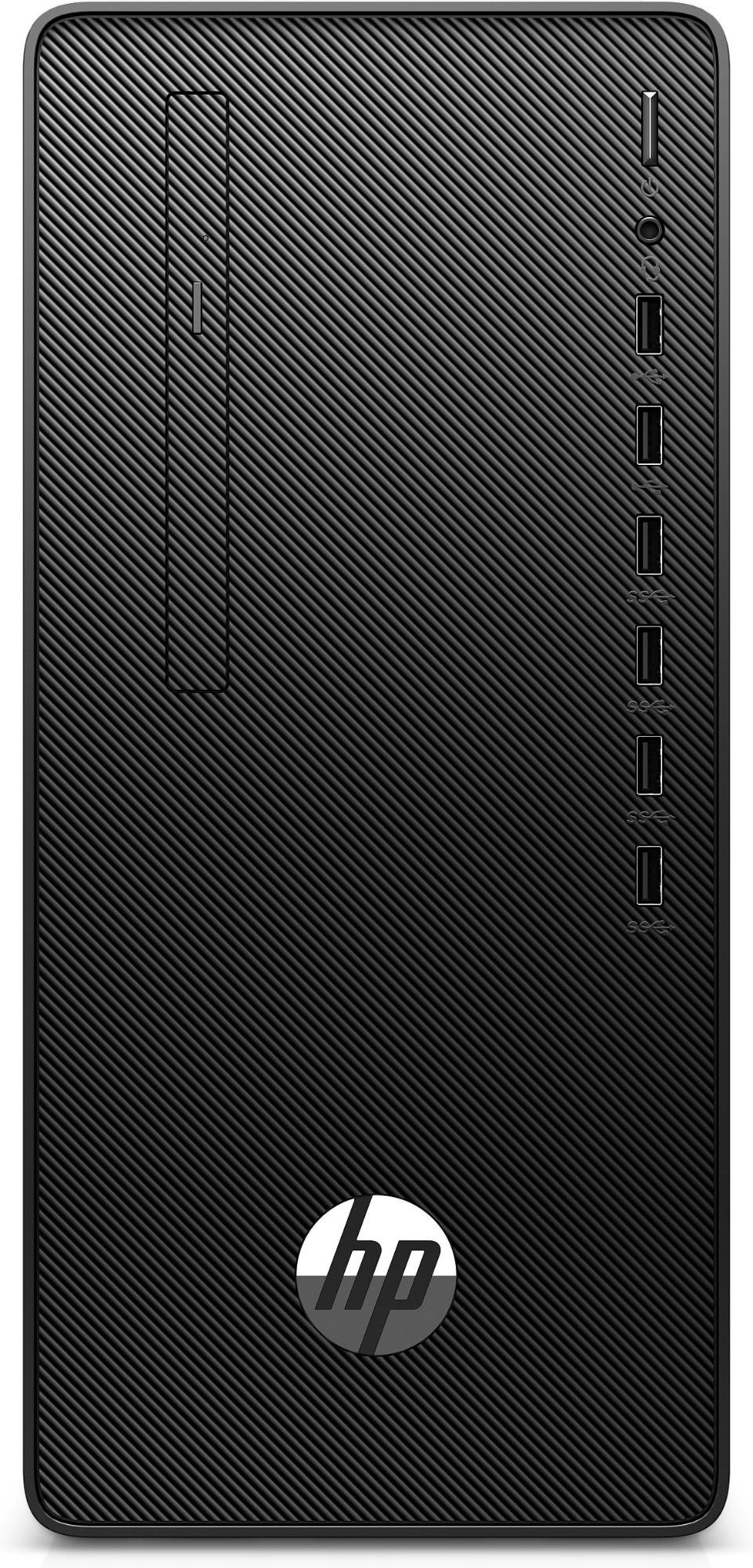 HP 295 G6 DDR4-SDRAM 3200G Micro Tower AMD Ryzen 3 PRO 8 GB 256 GB SSD Windows 10 Pro PC Black