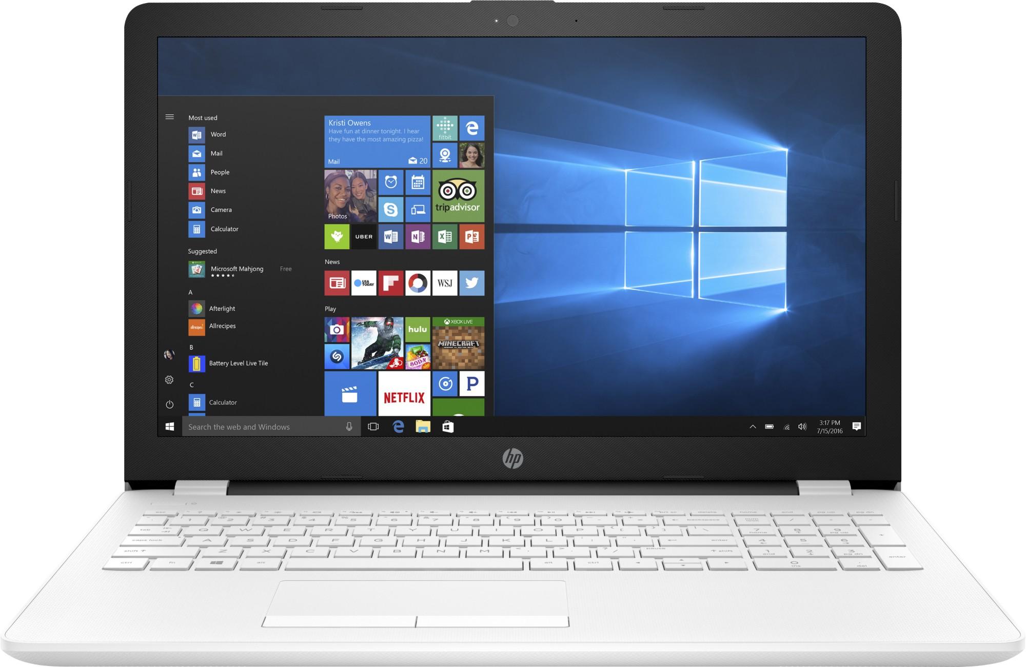 HP 15-bw085na 2HQ85EA#ABU AMD DC A9-9420 4GB 1TB 15.6IN BT CAM Win 10 Home Refurb