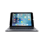Griffin ClamCase+ Bluetooth QWERTY Grey mobile device keyboard