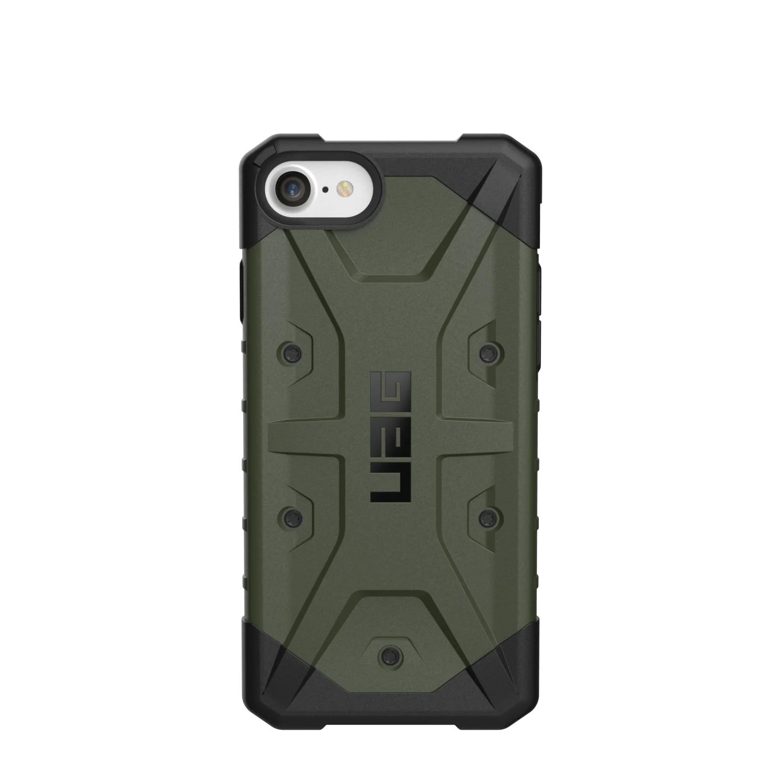 """Urban Armor Gear Pathfinder funda para teléfono móvil 11,9 cm (4.7"""") Carcasa rígida Negro, Oliva"""