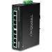Trendnet TI-PE80 switch Fast Ethernet (10/100) Energía sobre Ethernet (PoE) Negro
