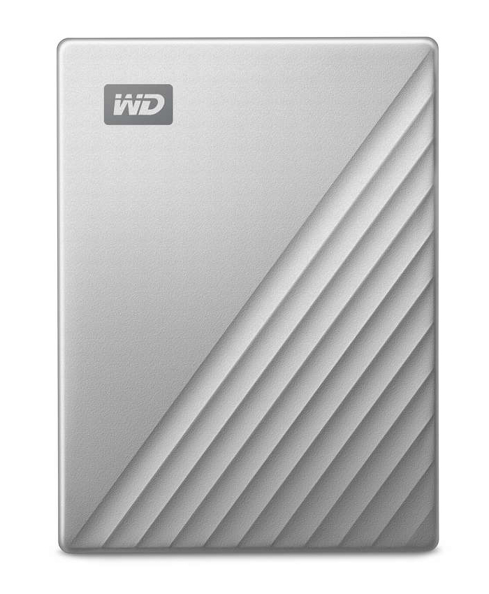 Western Digital My Passport Ultra disco duro externo 1000 GB Negro, Plata
