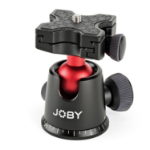"Joby BallHead 5K 1/4"" Ball Black, Red tripod head"
