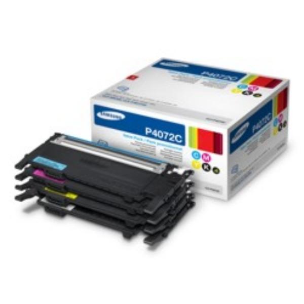 Samsung CLT-P4072C/ELS (P4072C) Toner MultiPack, 1500+3x1000 pg