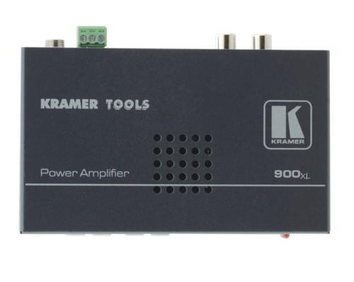 Kramer Electronics 900XL audio amplifier 2.0 channels Black