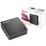 Gigabyte GB-BRI5-8250-BW PC/workstation barebone i5-8250U 1.60 GHz UCFF Black BGA 1356
