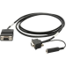 Zebra 25-13227-03R cable de serie Negro 1,83 m DB9