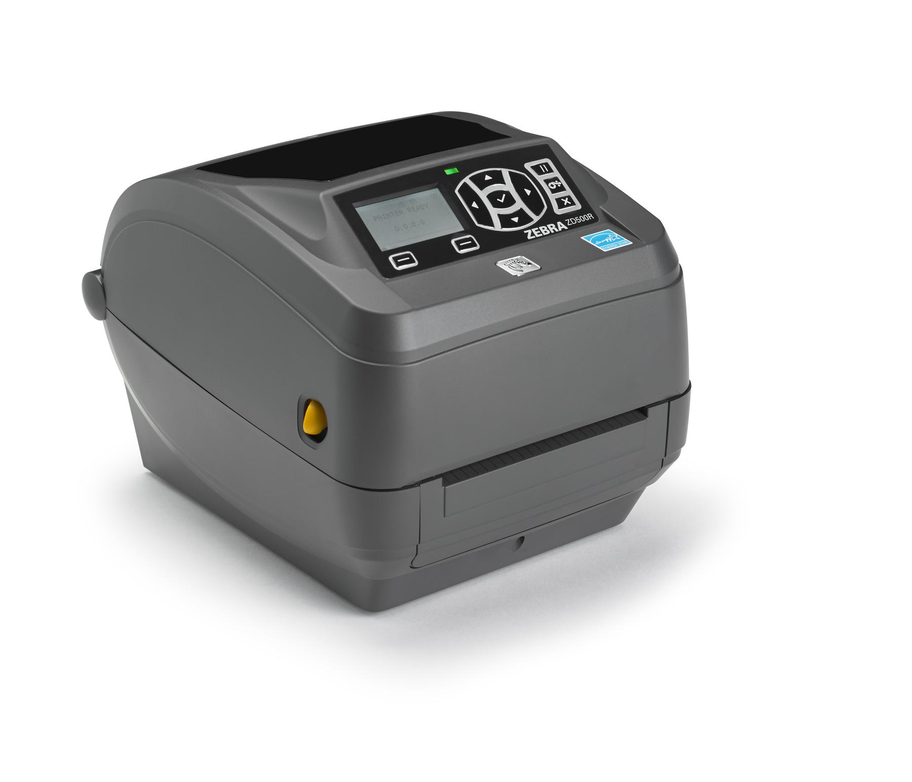 Zebra ZD500R labelprinter Direct thermisch/Thermische overdracht 300 x 300 DPI Bedraad