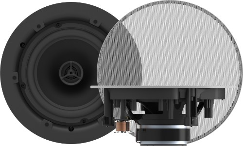 Vision CS-1800 loudspeaker 2-way 35 W White Wired