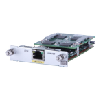 Hewlett Packard Enterprise MSR 1-port E1/T1 Voice SIC Module voice network module