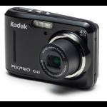 """Kodak PIXPRO FZ43-BK compact camera 16.15 MP CCD 4608 x 3456 pixels 1/2.3"""" Black"""