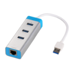 i-tec USB 3.0 Metal HUB 3 Port + Gigabit Ethernet Adapter