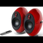 Edifier E25HD LUNA HD Bluetooth Speakers Red - BT/3.5mm/Optical DSP 74W