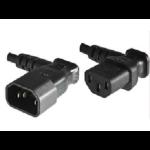 Microconnect C13/C14, 0.4 m Black C13 coupler C14 coupler