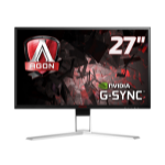 "AOC Gaming AG271QG computer monitor 68.6 cm (27"") 2560 x 1440 pixels Quad HD LED Flat Black,Red"