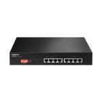 Edimax ES-1008P V2 Fast Ethernet (10/100) Power over Ethernet (PoE) Black network switch