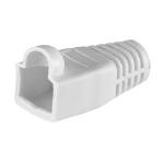 Cablenet RJ45 Cat6a Boot White 6.5mm