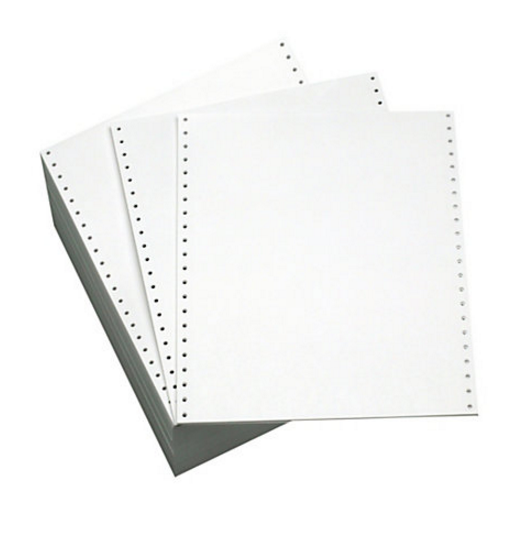Integrity Print Value Listing Paper 11 x 241 70gsm Plain Perforated BX2000