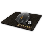 GAMDIAS OUREA E1 + NYX E1 USB Optical 4000DPI Ambidextrous Black mice