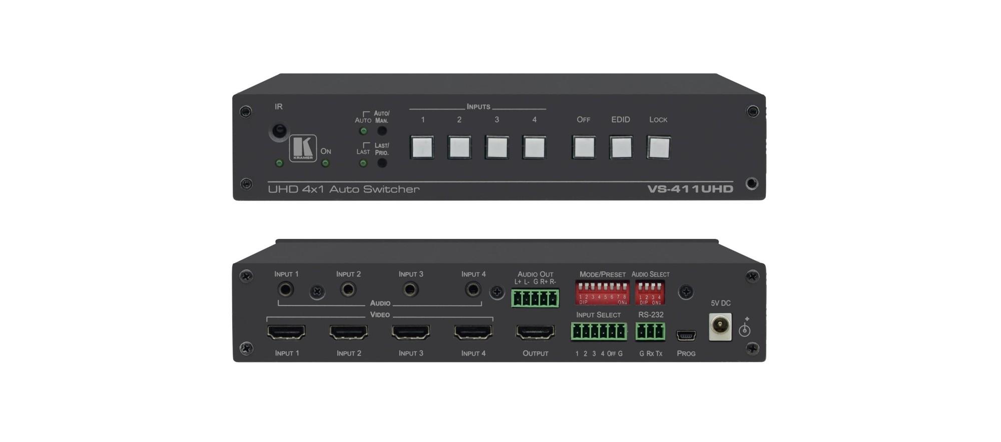 Kramer Electronics VS-411UHD video switch HDMI