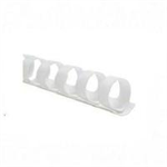 GBC CombBind Binding Combs 22mm White (100)