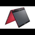 """Fujitsu LIFEBOOK U9310X Hybrid (2-in-1) 33.8 cm (13.3"""") 1920 x 1080 pixels Touchscreen 10th gen Intel® Core™ i7 16 GB LPDDR3-SDRAM 512 GB SSD Wi-Fi 6 (802.11ax) Windows 10 Pro Red"""