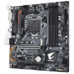 Gigabyte B360M AORUS GAMING 3 Intel B360 LGA 1151 (Socket H4) Micro ATX motherboard