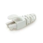Cablenet RJ45 Snagless Strain Relief Flush Boot White 6.5mm