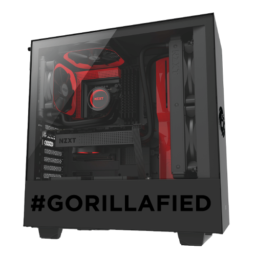 Gorilla Gaming LEVEL: 2.3 - Ryzen 7 3800X, 16GB RAM, 512GB NVMe SSD, 1TB HDD, RX 5700 XT