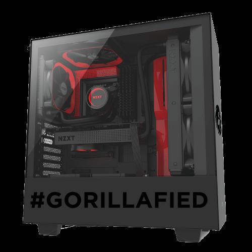 Gorilla Gaming LEVEL: 2.3 - Ryzen 5 3600X, 16GB RAM, 512GB NVMe SSD, 1TB HDD, RX 5700 XT