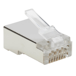 Tripp Lite N232-050-FTP wire connector RJ45 Metallic, Transparent