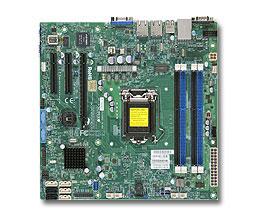 Supermicro X10SLM-F server/workstation motherboard LGA 1150 (Socket H3) Micro ATX Intel® C224