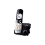 Panasonic KX-TG6811 DECT PHONE - SINGLE DECT telephone Black,Silver Caller ID