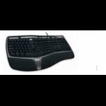 Microsoft B2M-00009 USB QWERTY keyboard