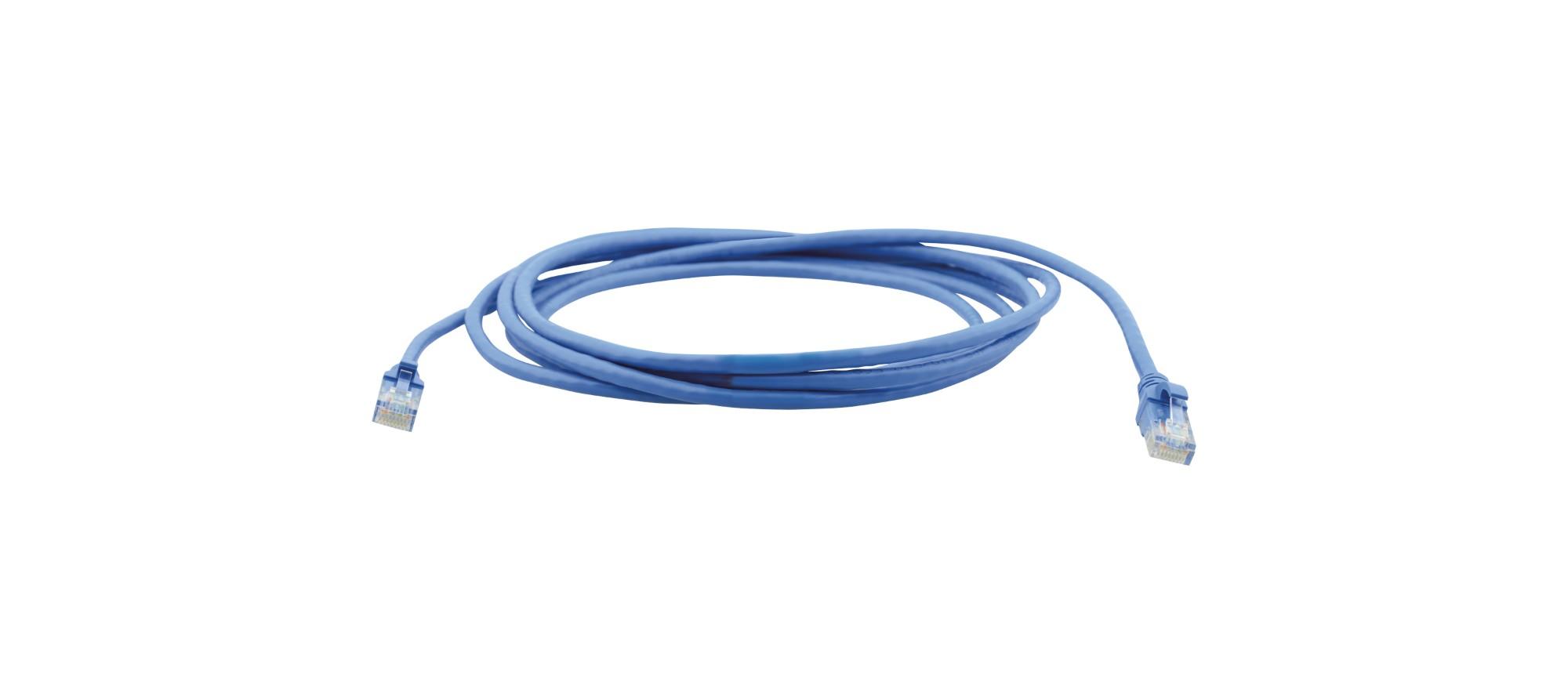 Kramer Electronics PC6−1 CAT6 U/UTPP, 2.1m cable de red 2,1 m U/UTP (UTP) Azul